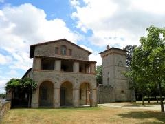 Domaine de la Garenne-Lemot (également sur communes de Clisson, dans la Loire-Atlantique, et Cugand, en Vendée) - English: House of the gardener - Park of La Garenne Lemot, Clisson-Gétigné, Loire-Atlantique, France