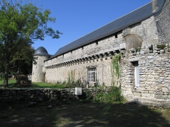 Château de Careil - English: Defensive side of the Castle of Careil, Guérande, France