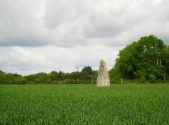 Menhir - English: Menhir de Bissin, Guérande, Loire-Atlantique, France.