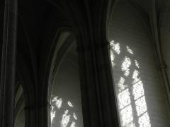 Cathédrale Saint-Pierre Saint-Paul - Intérieur de la cathédrale Saint-Pierre et Saint-Paul de Nantes (44). Collatéral et chapelles sud de la nef.