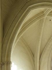 Cathédrale Saint-Pierre Saint-Paul - Intérieur de la cathédrale Saint-Pierre et Saint-Paul de Nantes (44). Chapelle sud de la nef. Voûtes.