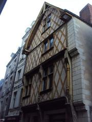 Maison - English: Maison 7 rue de la Juiverie, Nantes