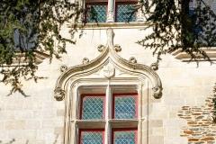 Porte gallo-romaine, dite du Bastion Saint-Pierre, dépendant de l'ancien évêché - Français:   Détail de la porte Saint-Pierre. (Nantes, Loire-Atlantique, Pays de la Loire, France)