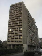 Maison radieuse - English: Exterior view of the