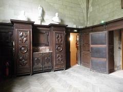 Eglise des Minimes - Chapelle Notre-Dame-de-l'Immaculée-Conception de Nantes (44). Sacristie.