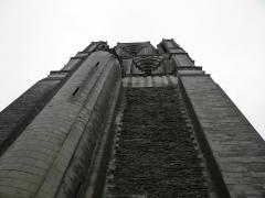 Ancienne abbaye Saint-Aubin, actuelle préfecture - Du pied de la Tour Saint Aubain