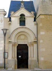 Temple (ancienne chapelle saint-Eloi) - English: Reformed church (Angers, France)
