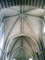 Collégiale Saint-Martin - Église Saint-Martin d'Angers (voute du choeur)