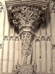 Collégiale Saint-Martin - Église Saint-Martin d'Angers (chapiteau)