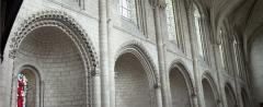 Eglise de la Trinité - English: Eglise de la Trinité; Angers, Pays de la Loire, Maine-et-Loire, France;; ref: PM_094034_F_Angers;; Photographer: Paul M.R. Maeyaert; www.pmrmaeyaert.eu; © Paul M.R. Maeyaert; pmrmaeyaert@gmail.com; Cultural heritage; Europeana; Europe/France/Angers;