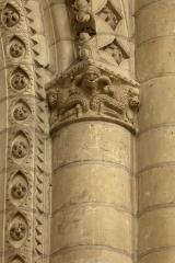 Eglise de la Trinité - English: Eglise de la Trinité; Angers, Pays de la Loire, Maine-et-Loire, France;; ref: PM_094058_F_Angers;; Photographer: Paul M.R. Maeyaert; www.pmrmaeyaert.eu; © Paul M.R. Maeyaert; pmrmaeyaert@gmail.com; Cultural heritage; Europeana; Europe/France/Angers;