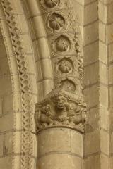 Eglise de la Trinité - English: Eglise de la Trinité; Angers, Pays de la Loire, Maine-et-Loire, France;; ref: PM_094059_F_Angers;; Photographer: Paul M.R. Maeyaert; www.pmrmaeyaert.eu; © Paul M.R. Maeyaert; pmrmaeyaert@gmail.com; Cultural heritage; Europeana; Europe/France/Angers;