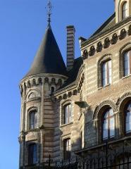 Ancien évêché ou Palais du Tau - Français:   Palai du Tau (tourelle d\'angle) - Angers (France)