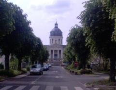 Hospices d'Angers ou Hôpital Sainte-Marie - English: Church in Saint Louis hospital, Angers