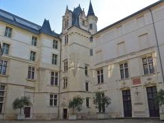Logis Barrault - Français:   Logis Barrault, actuel  musée des beaux-arts - Angers (Maine-et-Loire)