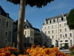 Logis Barrault - English:   Place Saint-Éloi in Angers, Maine-et-Loire, France. The \