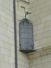Logis Barrault - Français:   Angers, Abbaye Toussaint, cadran solaire