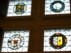 Logis Barrault - Français:   Angers, Logis Barrault-vitraux