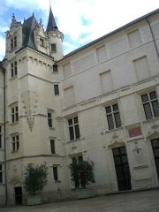 Logis Barrault -  Le Logis Barrault qui abrite le Musée des Beaux-Arts d\'Angers.