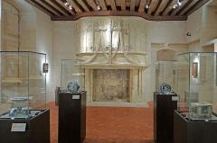Logis Barrault -   Salle du musée des beaux-arts d\'Angers  Selon le musée qui est installé dans le Logis Barrault, il s\'agit d\'une \