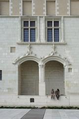 Logis Barrault - Français:   Loggia et croisées dans le musée des Beaux-Arts d\'Angers