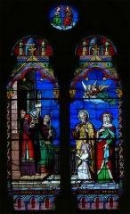 Eglise - Français:   Présentation de la vierge au temple - Eglise Saint-Gervais et Saint-Protais à Brion (Maine et Loire)