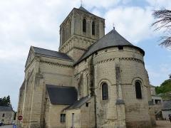Eglise - Français:   Église Saint-Gervais et Saint-Protais à Brion (Maine et Loire) vue côté abside.