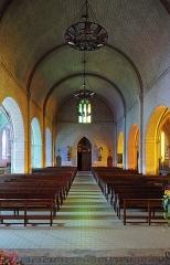 Eglise Saint-Maurille - Nederlands: Chalonnes-sur-Loire (departement Maine-et-Loire, Frankrijk): interieur van de Saint-Maurillekerk