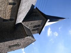 Eglise - English: The church of Chemiré-sur-Sarthe, Maine-et-Loire, France.