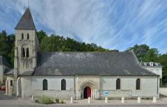 Eglise des Tuffeaux - English:   The \
