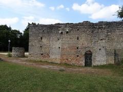 Motte féodale et donjon (restes) - Français:   Doué-la-Fontaine, aula érigée au Xe siècle ,Elle a été la résidence de Louis le Pieux , fils de Charlemagne.