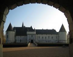 Château du Plessis-Bourré -  Castle Le Plessis-Bourré, located near the village of  Écuillé in the county of Maine-et-Loire/France