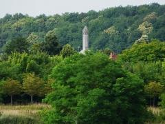 Chapelle Sainte-Catherine ou lanterne des morts - Français:   Lanterne des morts, chapelle Sainte-Catherine, Fontevraud-l\'Abbaye, Maine-et-Loire, France