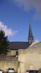 Eglise Saint-Michel - English: Church of St. Michael in Fontevraud-l'Abbaye