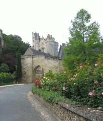 Porte du Moulin - English: castle of Montreuil-Bellay (France)