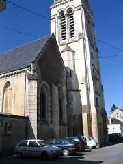 Eglise - English: The church of Morannes, Maine-et-Loire, France.