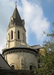Eglise (à l'exception des parties modernes) -  Village of Saint-Rémy-la-Varenne in the département of Maine-et-Loire in the region Pays de la Loire in France - church of Saint-Remy