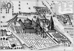 Abbaye de Saint-Florent-lès-Saumur - French archaeologist and historian