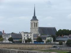 Eglise Saint-Nicolas -  Église Saint Nicolas de Saumur, Saumur, Pays de la Loire, France