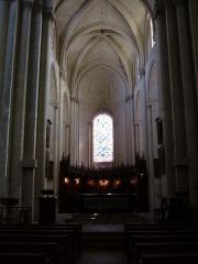 Eglise Saint-Pierre -  Eglise Saint-Pierre in Saumur, France.