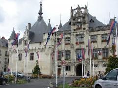 Hôtel de ville -  Mairie, Saumur, Pays de la Loire, France