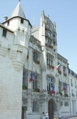 Hôtel de ville - Français:   mairie de Saumur France