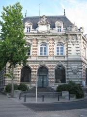Maison des Rois - English: King's house, Saumur, France. architect: Jules Dussauze (dead 1912)