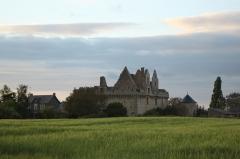 Château du Grand-Riou - Français:   Château du Grand-Rioux, Fr-49-Tigné.