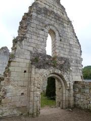 Eglise Saint-Maxenceul à Cunault - Français:   Église Saint-Maxenceul (Classée M.H.)