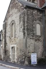 Chapelle du Genneteil - Français:   Chapelle Notre-Dame du Genêteil Transept Nord vu du Nord-Ouest