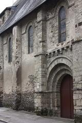 Chapelle du Genneteil - Français:   Chapelle Notre-Dame du Genêteil Portail Nord