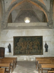 Chapelle Saint-Crépin - Français:   Abbaye Notre-Dame d\'Évron