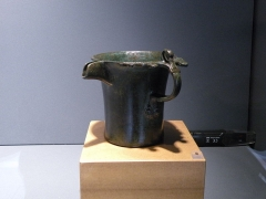Camp romain (restes) - Situle Gréco italique -V eme siecle