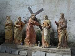 Chapelle Notre-Dame de Pritz - Français:   Le chemin de croix monumental.